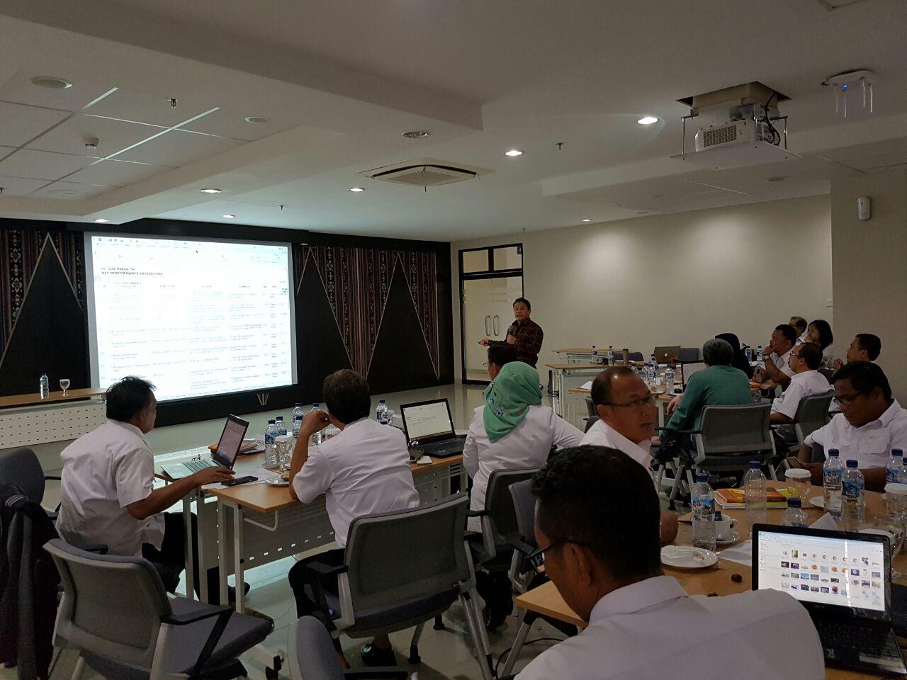 Identifikasi KPI untuk seluruh Proses Bisnis Umum JASA MARGA TBK